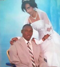 Mariam Yehia Ibrahim and husband Daniel Wani